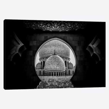 Framed 3-Piece Canvas #OXM2982} by Fahad Abdualhameid Canvas Art Print