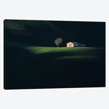 The Red Door Canvas Print #OXM2988} by Fiorenzo Carozzi Art Print