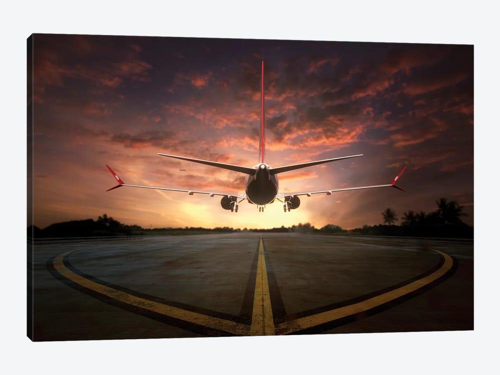 Chasing The Sunset by Ganjar Rahayu 1-piece Canvas Art