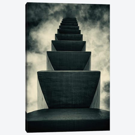 Endless Column Canvas Print #OXM2} by Costin Mugurel Canvas Art