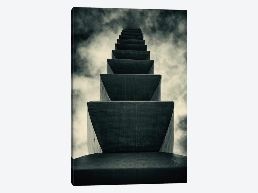 Endless Column by Costin Mugurel 1-piece Canvas Art Print