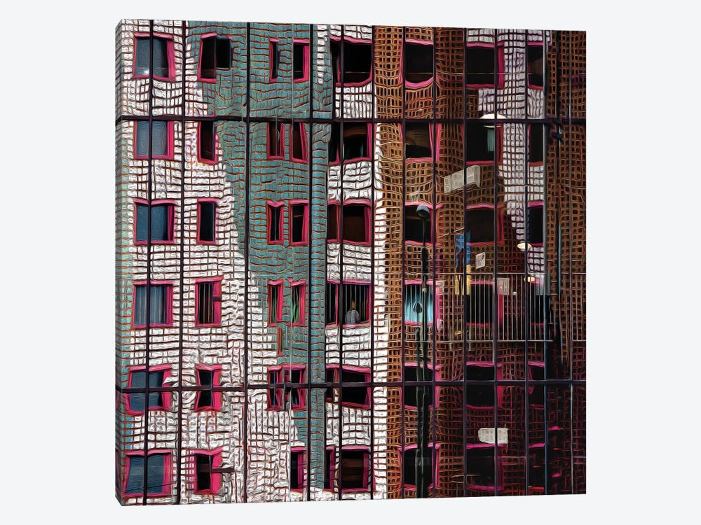 The Trapped Illusion by Gilbert Claes 1-piece Canvas Print