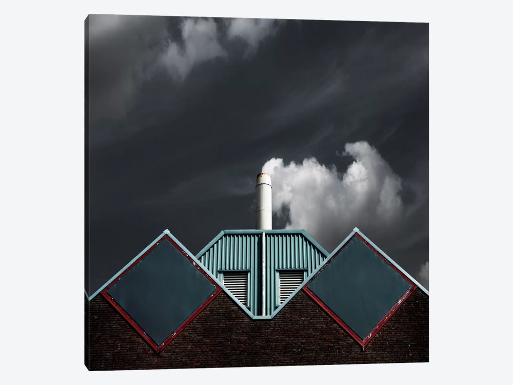 The Cloud Factory by Gilbert Claes 1-piece Art Print