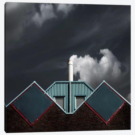 The Cloud Factory Canvas Print #OXM300} by Gilbert Claes Canvas Art Print