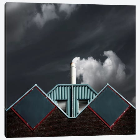 The Cloud Factory Canvas Print #OXM300} by Gilbert Claes Canvas Art Print