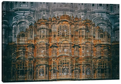 Hawa Mahal Canvas Art Print