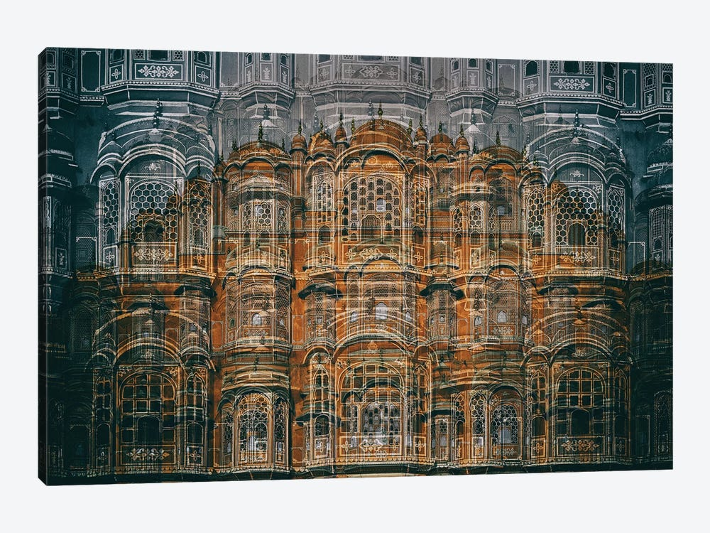 Hawa Mahal by Hans-Wolfgang Hawerkamp 1-piece Canvas Art