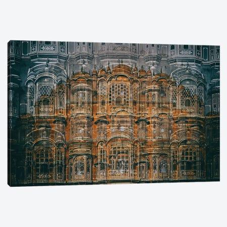 Hawa Mahal Canvas Print #OXM3016} by Hans-Wolfgang Hawerkamp Canvas Art Print