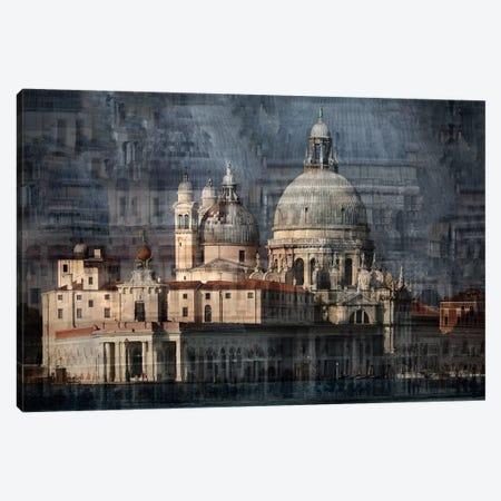 Santa Maria Della Salute Canvas Print #OXM3021} by Hans-Wolfgang Hawerkamp Art Print