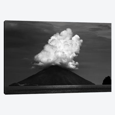 Stromboli Eruption Canvas Print #OXM3023} by Hans-Wolfgang Hawerkamp Art Print