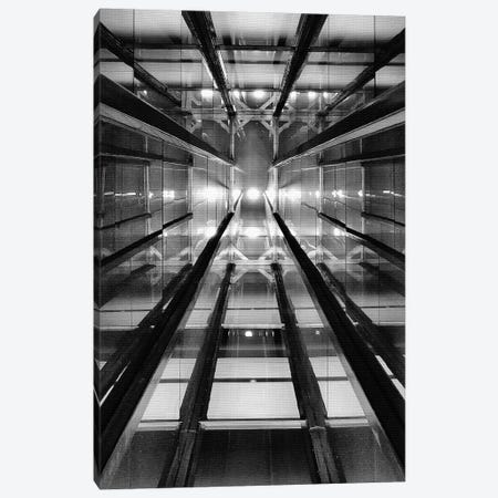 Elevator Shaft Casa Confetti Canvas Print #OXM3032} by Henk van Maastricht Canvas Wall Art