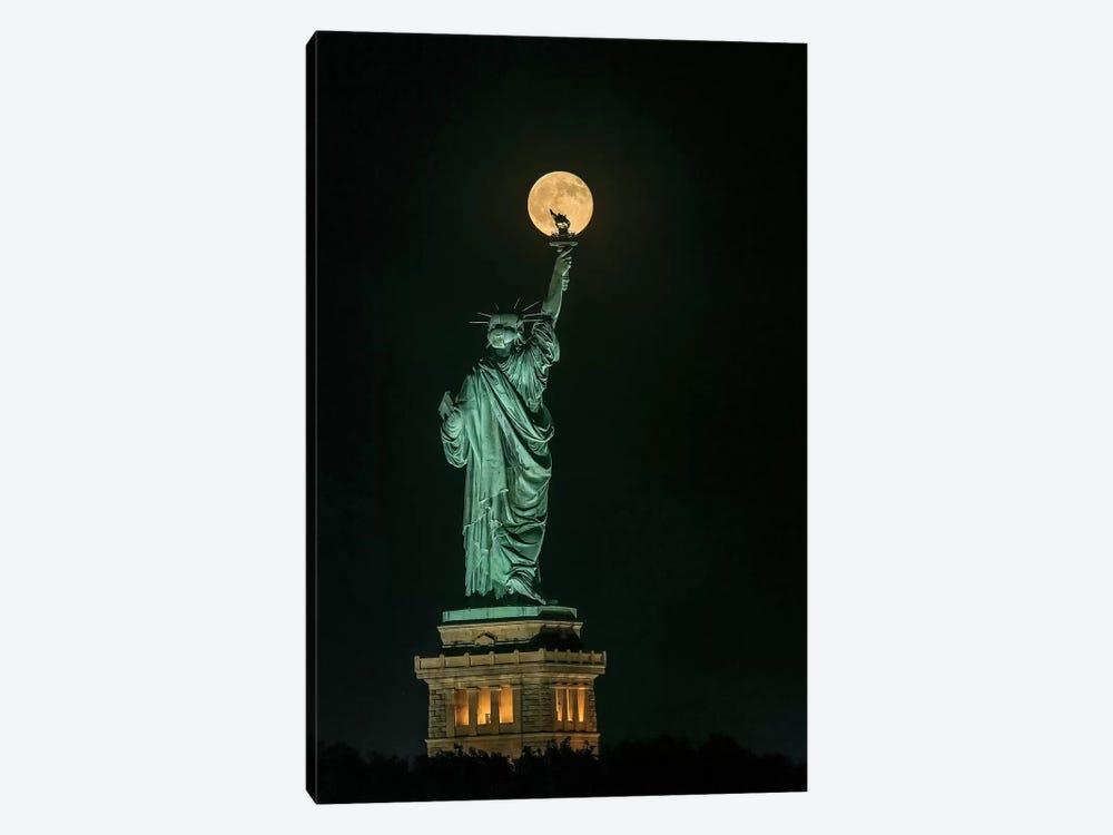 Statue Of Liberty by Hua Zhu 1-piece Canvas Print