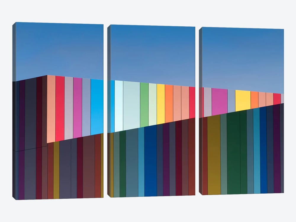 Urban Candy by Gregory Evans 3-piece Canvas Artwork