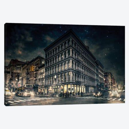 Back To Gotham Canvas Print #OXM3048} by Jackson Carvalho Canvas Art Print