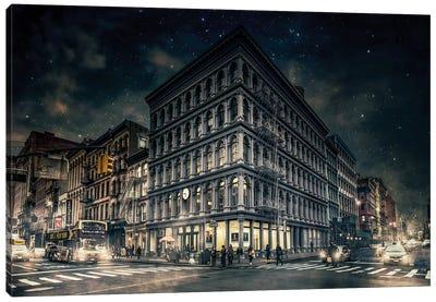 Back To Gotham Canvas Art Print