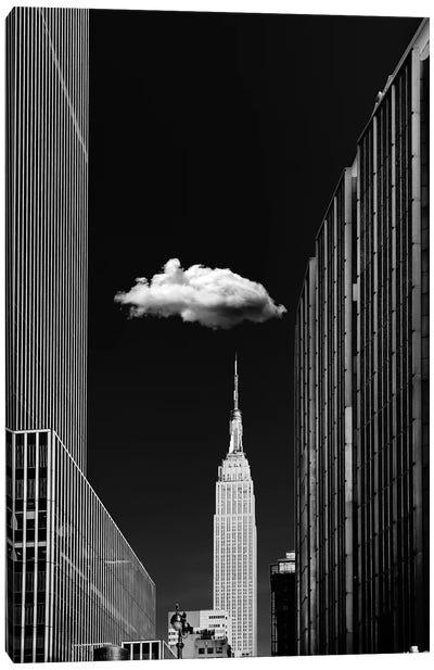 Single Cloud Canvas Art Print