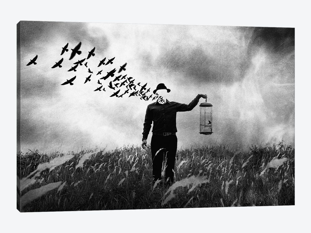 Freedom by Jay Satriani 1-piece Art Print