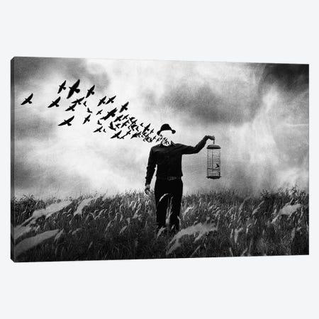 Freedom 3-Piece Canvas #OXM3057} by Jay Satriani Art Print