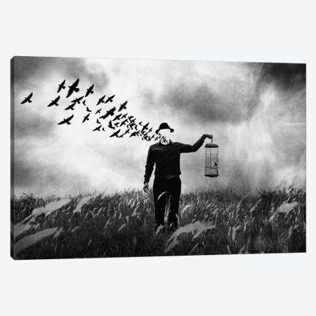 Freedom Canvas Print #OXM3057} by Jay Satriani Art Print