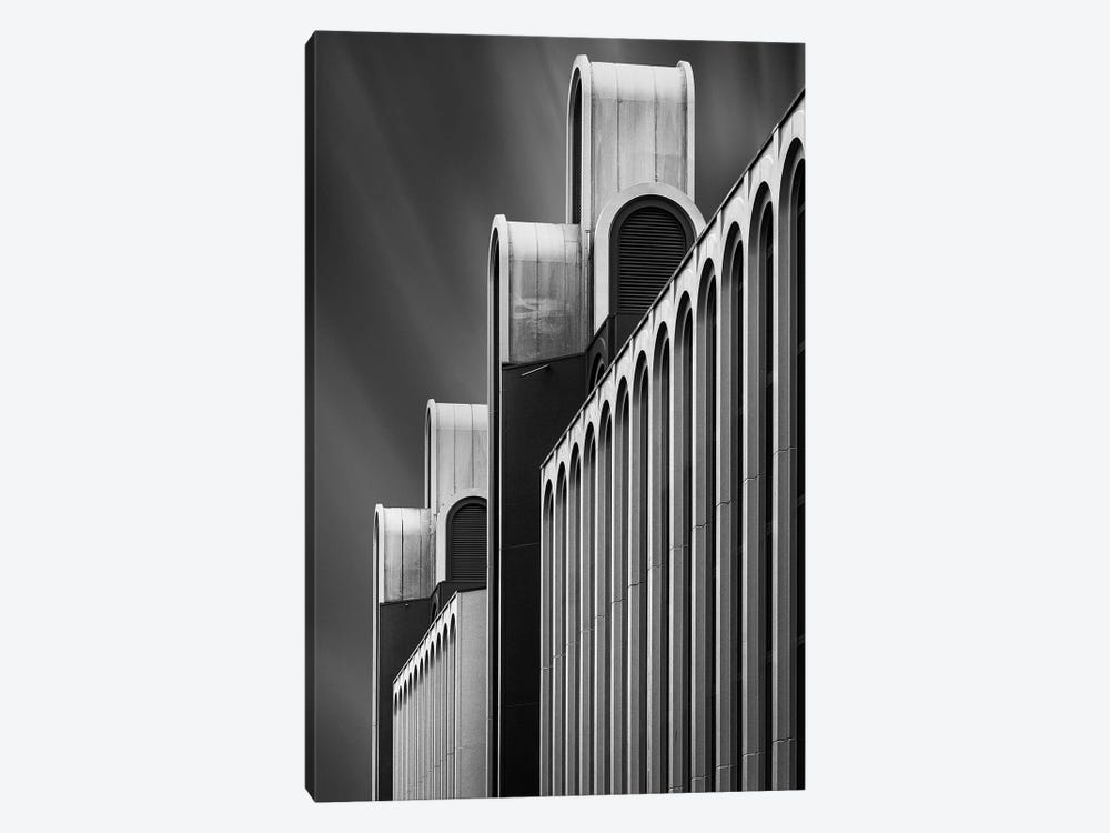 Towers Of Money by Jef Van den Houte 1-piece Canvas Print