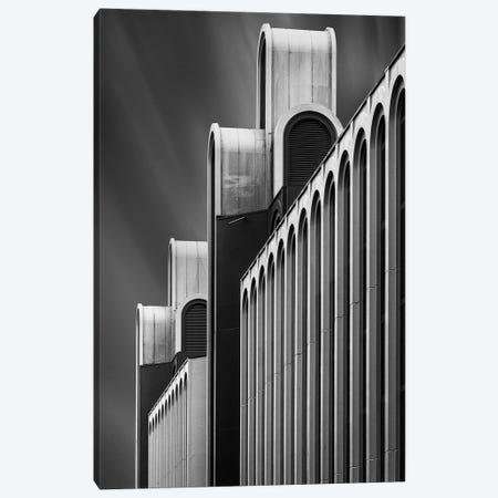 Towers Of Money Canvas Print #OXM3060} by Jef Van den Houte Canvas Print