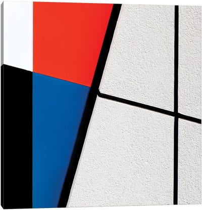 Colours With Lines Canvas Art Print
