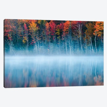 Morning Reflection Canvas Print #OXM3071} by John Fan Canvas Art