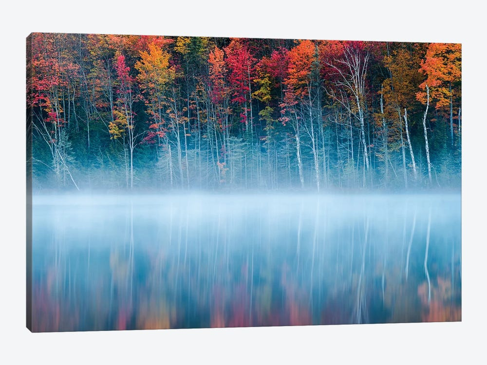 Morning Reflection by John Fan 1-piece Canvas Art Print