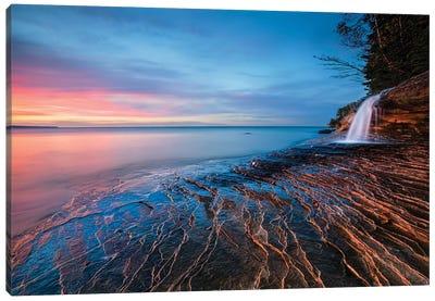 Symphony Of Sunset Canvas Art Print