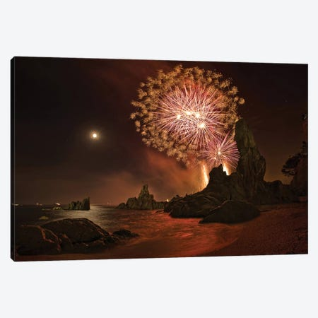 Sant Joan Feast Canvas Print #OXM3074} by Jordi Gallego Canvas Art Print
