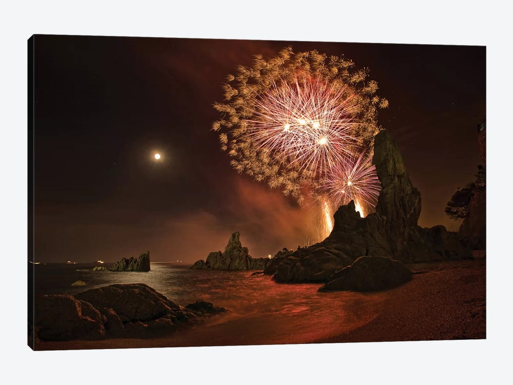 Sant Joan Feast by Jordi Gallego 1-piece Canvas Art