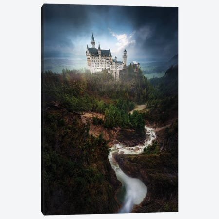 Neuschwanstein Canvas Print #OXM3077} by Juan Pablo de Miguel Canvas Art Print