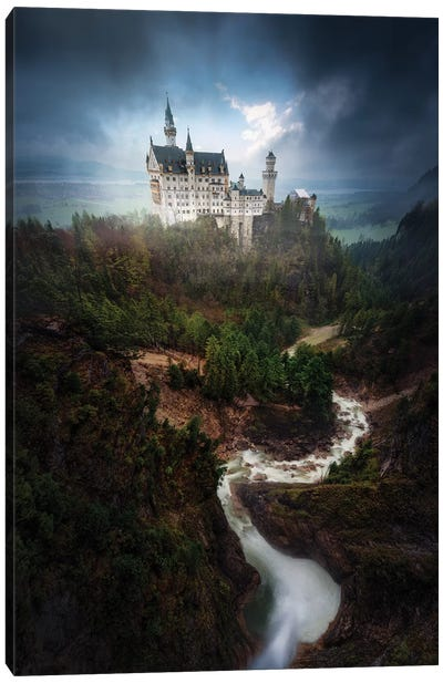 Neuschwanstein Canvas Art Print