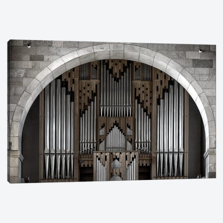 The Symmetry Of Music Canvas Print #OXM3091} by Leif Løndal Canvas Wall Art