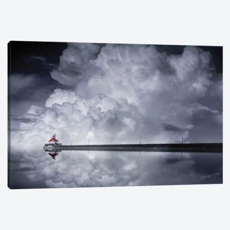 Cloud Desending Canvas Print #OXM3092} by Like He Canvas Artwork