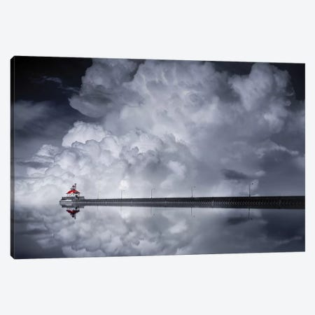 Cloud Desending Canvas Print #OXM3092} by Like He Canvas Artwork