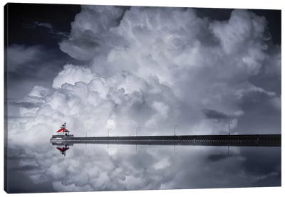 Cloud Desending Canvas Art Print