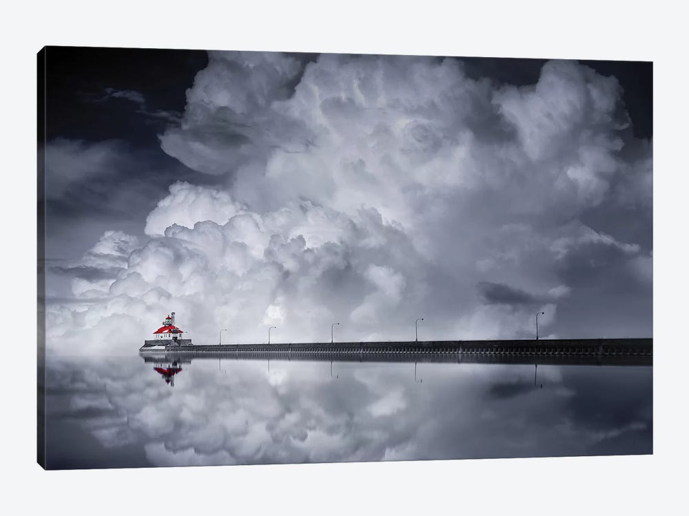 Cloud Desending by Like He 1-piece Canvas Art