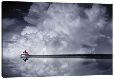 Cloud Desending Canvas Art Print
