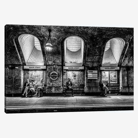 Baker Street Canvas Print #OXM3101} by Marc Pelissier Canvas Artwork