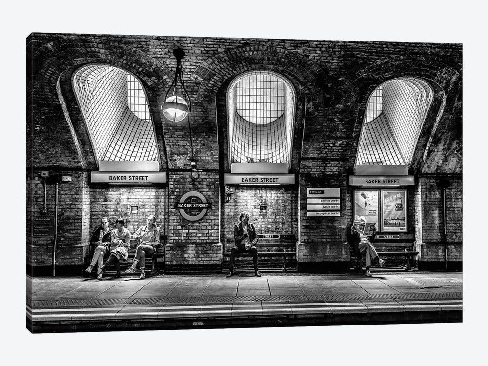 Baker Street by Marc Pelissier 1-piece Art Print