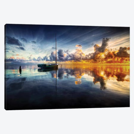 A Time For Reflection Canvas Print #OXM3107} by Mark Yugawa Canvas Art Print