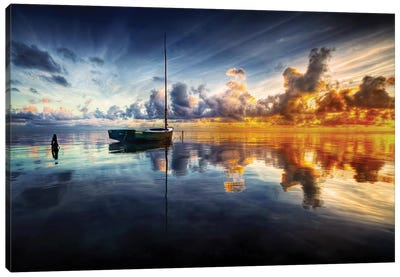 A Time For Reflection Canvas Art Print