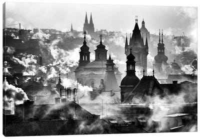 Prague Towers Canvas Art Print