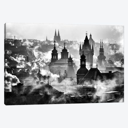 Prague Towers Canvas Print #OXM3108} by Martin Froyda Canvas Artwork