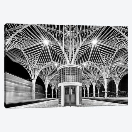 Train Station Canvas Print #OXM3109} by Martin Steeb Canvas Artwork