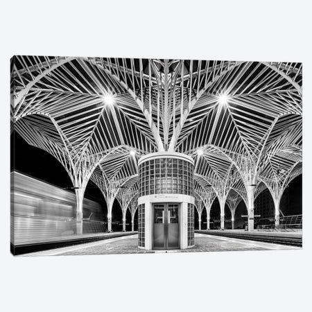 Train Station Canvas Print #OXM3109} by Martin Steeb Canvas Artwork