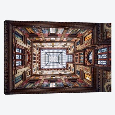 Galleria Sciarra, Rome Canvas Print #OXM3113} by Massimo Cuomo Canvas Print