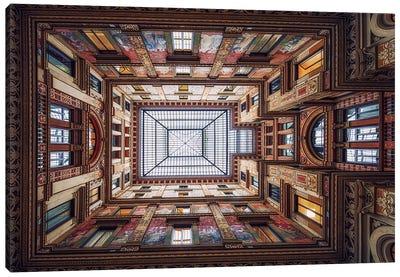 Galleria Sciarra, Rome Canvas Art Print