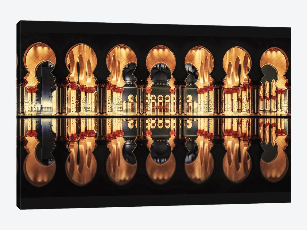 Reflections In The Mosque by Massimo Cuomo 1-piece Art Print